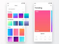 Gradient iOS App