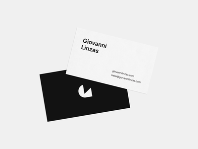 Business Cards - Personal Brand Identity white black 2020 stationery personal brand minimal business cards free mockup personal identity personal branding business cards logo design clean minimal design identity brand identity branding brand logo