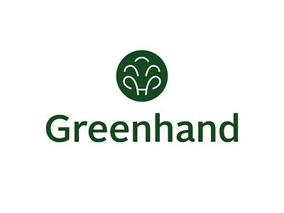 Greenhand - Environmental Organization Logo design environment environment logo design environmental organization tree logo non profit brand identity logo design branding brand non profit organization logo organization logo design