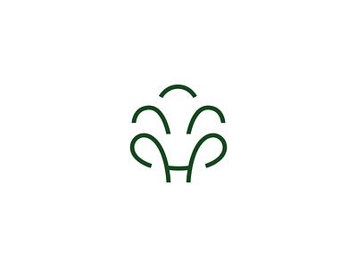 Greenhand - Environmental Organization Symbol environment logo design environmental environmental organization organization logo organization symbol non profit non profit organization logo brand identity icon icon design logo design branding brand tree logo tree symbol