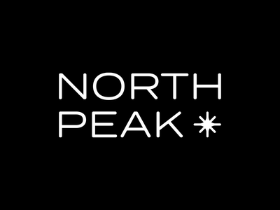 North Peak - Camping and Outdoors logo design outdoors logo camping logo sustainable clothing brand identity sustainable brand clothing logo nature logo outdoors camping branding logo clothing brand camping and outdoors logo design