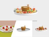 Food Product Compositing