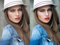 High End Model Retouching/Editing