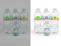 Water Bottle Editing