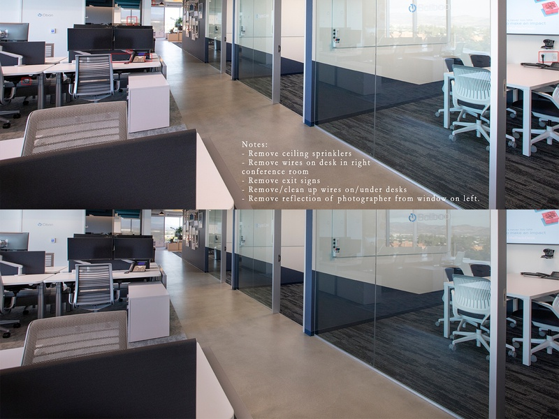 Office Picture Retouching office estate real estate compositing retouch picture edit photo retouching photo editing editing jatinderkumar f1digitals photoshop