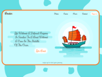 Boating colorscheme creativity website design illustration illustrator creative design colors algeria webdesigner webdesign uiux uidesign designer animation ui