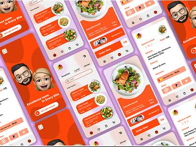 Food app mobile ui mobile app mobile algerie designer design illustration logo branding brand uiux animation algeria webdesigner webdesign uidesign
