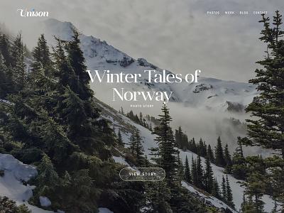 New UI Kit WIP unison canvas background nature hero header theme ui kit ui