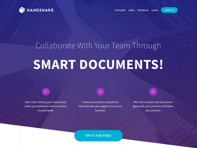 New version of Handshake is coming...