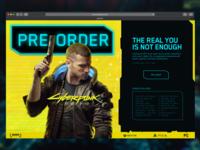 CyberPunk 2077 | A Pre-order Page