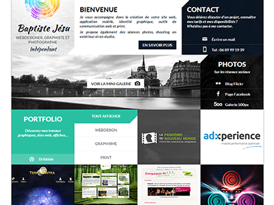 Portfolio redesign portfolio webdesign