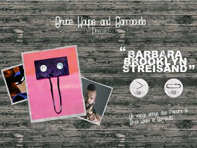 Bruce Wayne and Barracuda webdesign art direction graphic design development