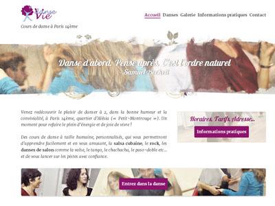 Dansevie dansevie danse webdesign responsive wordpress