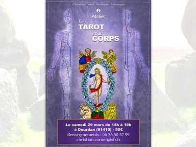 Tarot Flyer flyer print tarot