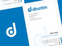 Dhatim Cards