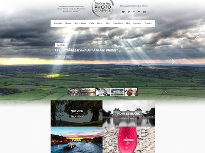 Photography website and blog photography webdesign blog images pictures travel photographie voyages histoires stories