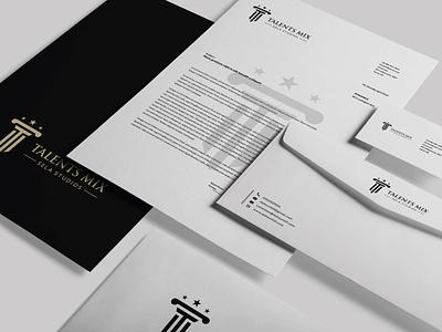 Simple stationery design modern logo minimalist logo identity branding design brand identity brand design brand logotype logos logomark logodesign logo designer logo design minimal design branding typography graphic design logo