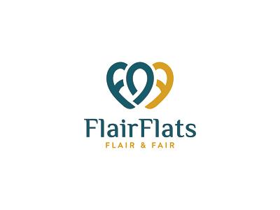 F F Heart logo logotype minimalist log identity modern logo goods for sale popular logo design minimal design typography branding graphic design logo