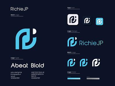 R+JP Logo Design printing mobile logo designer logodesign modern logo branding design minimalist logo illustration logo design minimal design typography branding graphic design logo