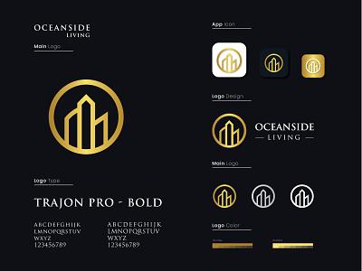 Real Estate Logo design logo designer typography logo style guide minimalist logo modern logo illustration logo design minimal design typography branding graphic design logo