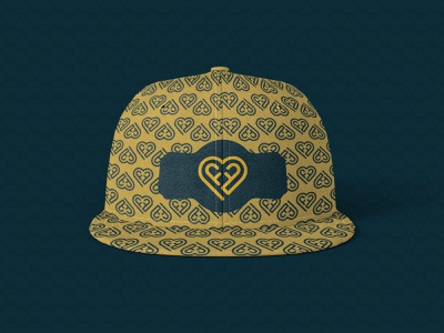 Pattern design on a cap cap design pattern design motion graphics 3d animation ui vector illustration logo design minimal design typography branding graphic design logo