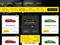 DREAM-CARS web redesign