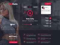 New GYM Radio web player