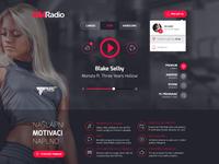 New GYM Radio web player