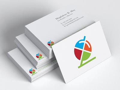 Providentia Enterprises Logo Mark searching simple elegant education logo icons branding global logo discovery magnifying glass letterforms conceptual vivid vector design learning education e-learning