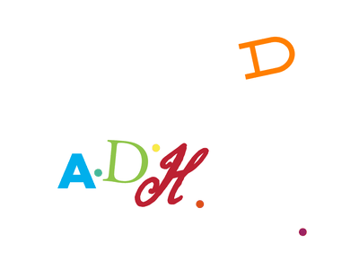 A Glimpse into My Mind adventures in design improvise mentalhealth storytelling focus awareness mindfulness adhd conceptual typography simple