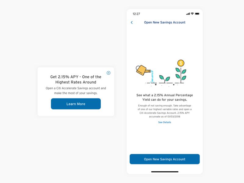Citi Mobile - Savings Account