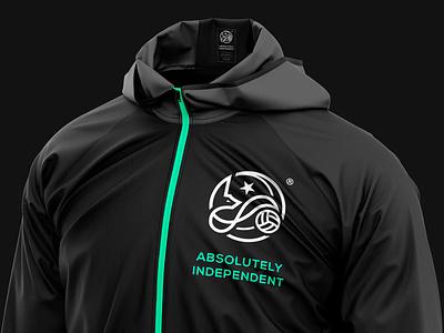 Desert Foxes | Sportswear star moon fennec fox fox desert algeria football soccer sportswear logo branding