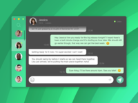 Messaging App UI - Daily Ui 013