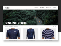 WCBS Bicycle Store Product Page Concept