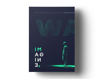 Simple poster design minimalism poster