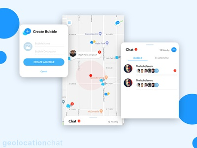 Geolocation Chat App