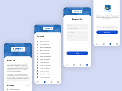 Simple Business App