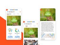 Town-wide social Feed App