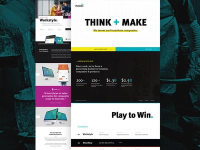 Thinktiv Portfolio Site