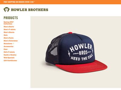 Howler Painted Cap