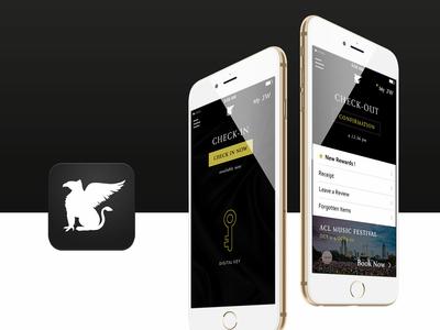 Seamless Stay App @ JW Hotels