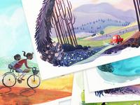 Travel Postcards!