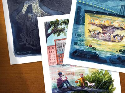 For sale   sandy postcards set3