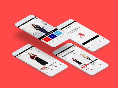 Uniqlo Self-Checkout Mobile App ecommerce fashion ui mobile app uniqlo self-checkout