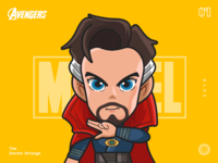 The Avengers-Doctor Strange-illustrations