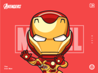 The Avengers-Iron man-illustrations