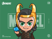 The Avengers-Loki-illustrations