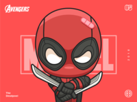 The Avengers-Deadpool-illustrations