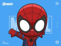 The Avengers-SpiderMan-illustrations