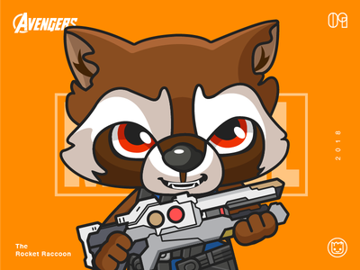 The Avengers-Rocket Raccoon-illustrations and ill keep updating i hope you like it the ninth